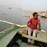 Boat trip along The Ganges
