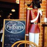 Padbury's and specials board