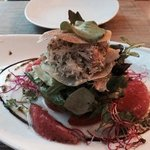 crab starter plate