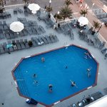 This is the second of 2 outdoor pools.  There is an outdoor bar right around the corner with wal