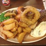 The Large Mixed Grill - An Adventure on a plate.