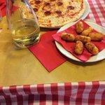 Diavolo & Potato Croquettes with 1L of Vino de Casa
