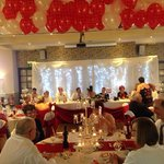 Our wedding, the room looked fantastic... Thank you Pride of Lincoln