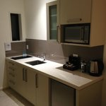 Kitchenette with induction cooker