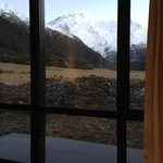 Gorgeous mountain view from the room