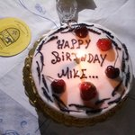 Zum Geburtstag bestellte Torte