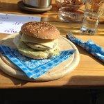 Siederei - Burger (Weißwurst-Burger)