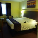 bedroom - usual Premier Inn layout