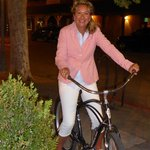 Taking the bikes down town