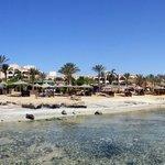 Hotelanlage am Meer