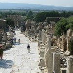 Ephesos short distance from hotel