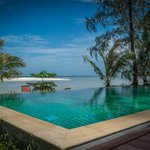 infinity pool sea view