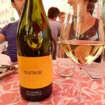 St.Andrea Napbor: a great white wine (at a price...)