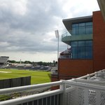 View from balcony - Pitch & LCCC