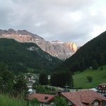 View from L'Salvan to Sella Gruppen