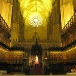 La Cattedrale al suo interno