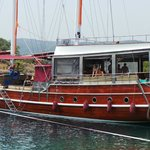 Sailing with the beautiful gûlet - 12 islands Fethiye boattrip