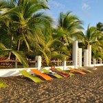 Der wunderschöne Strand direkt am Hotelgelände