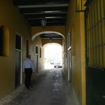Entrance to inside the fort