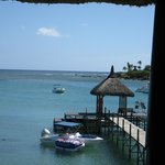 Bar to the jetty