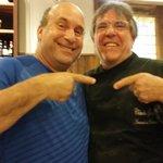 Husband with Chef Claudio