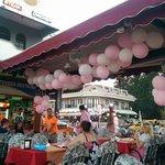Balloons everywhere!!