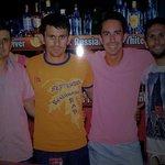 James, Ahmet, me and Happy