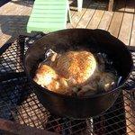campfire chicken :)