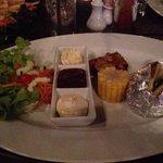 Plat du menu Mamma Mia, accompagnement du Kebab