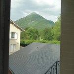 uitzicht vanuit de kamer.