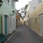 One of the hotel's streets