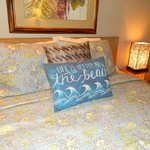 Unit A103 ~ Upscale furnishings & cozy decor make it the perfect place to relax