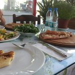 Turkish pizza in Bodrum