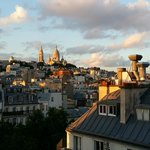 View of Sacre Coeur from our room
