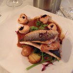 Stunning fish main course