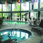 Relax at our Indoor Pool and Whirlpool