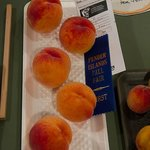 John's prize winning peaches