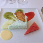 "Dessert du menu ""Pause du midi"""