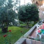 smal terrasse