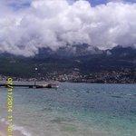 Le bateau pour aller à Herceg-Novi