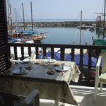 Kyrenia harbour from apartment.