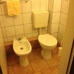 Separate toilet in the bedroom