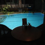 Swimming-pool from the pool bar