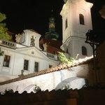 Ночной Страговский монастырь