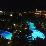 kvelden fra balkongen