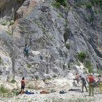 roccia da arrampicata