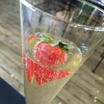 The Champagne cocktail - festive and fizzy