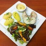 Le merlu patates aïoli