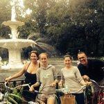 At Forsyth park fountain