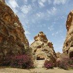 Siq al Barid rock formations